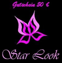 Star Look Geschenkgutschein von 20 € bis 200 €